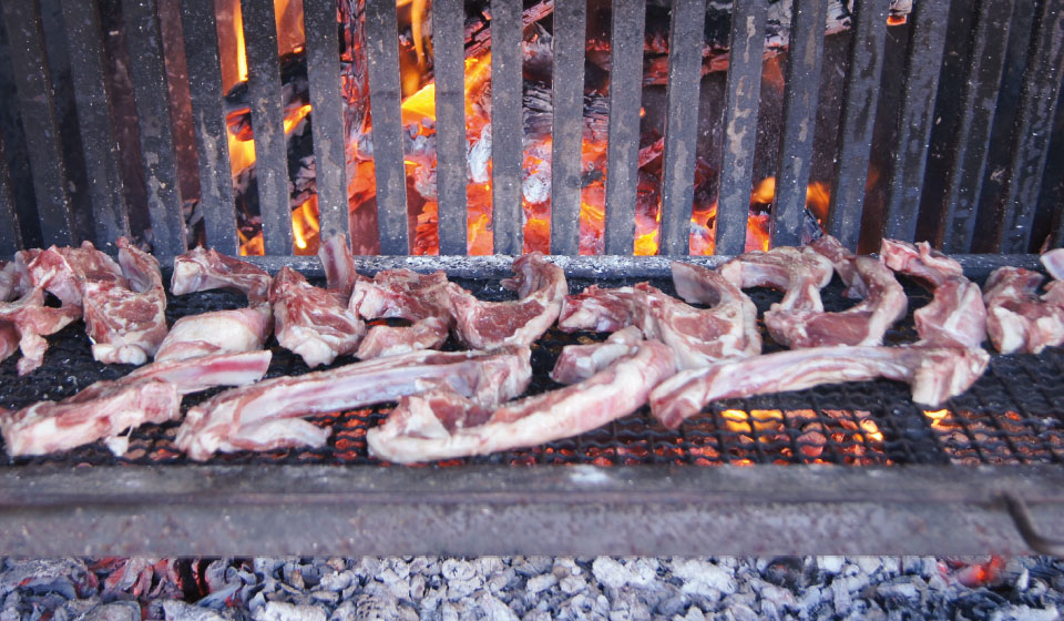 organic lamb from the Conflent region